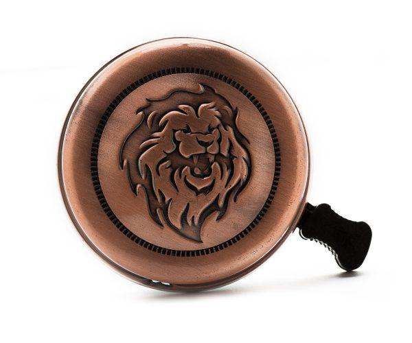 Звонок винтаж гравер лев