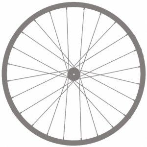 Заднее колесо 27,5″ под трещетку, эксцентрик.